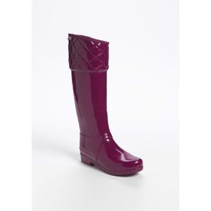 Hunter Limited Edition Ruby Quilted Rigley Boots